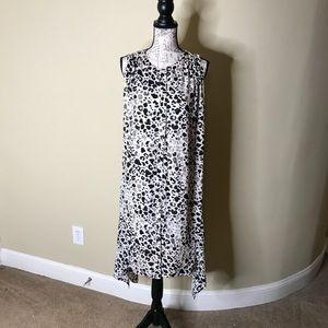Lane Bryant Print Dress